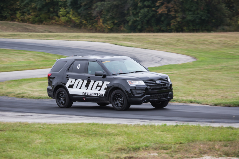 Michigan State Police Vehicle Testing
