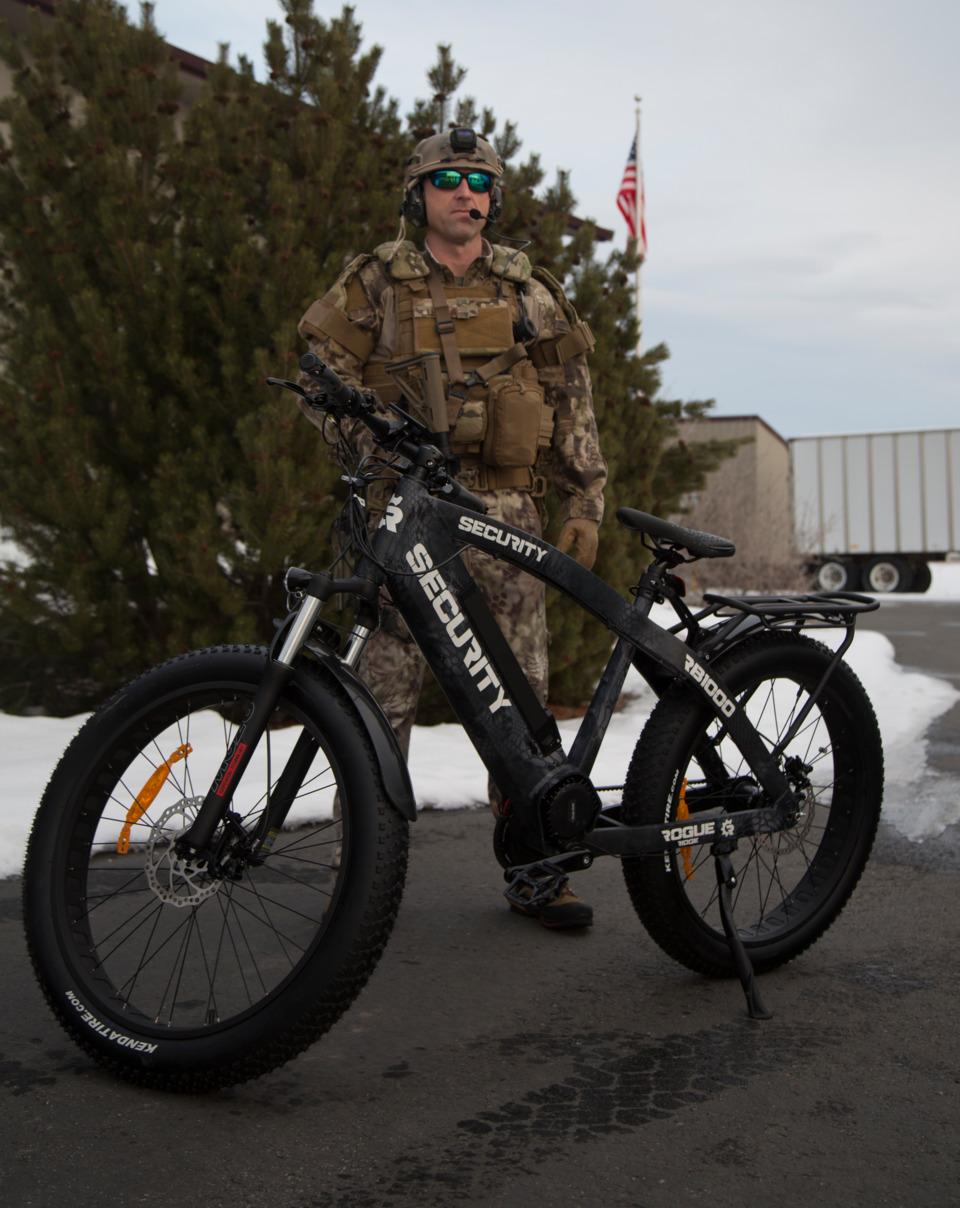 Rogue Ridge Bikes Electric Tactical Bike Ridge Warrior