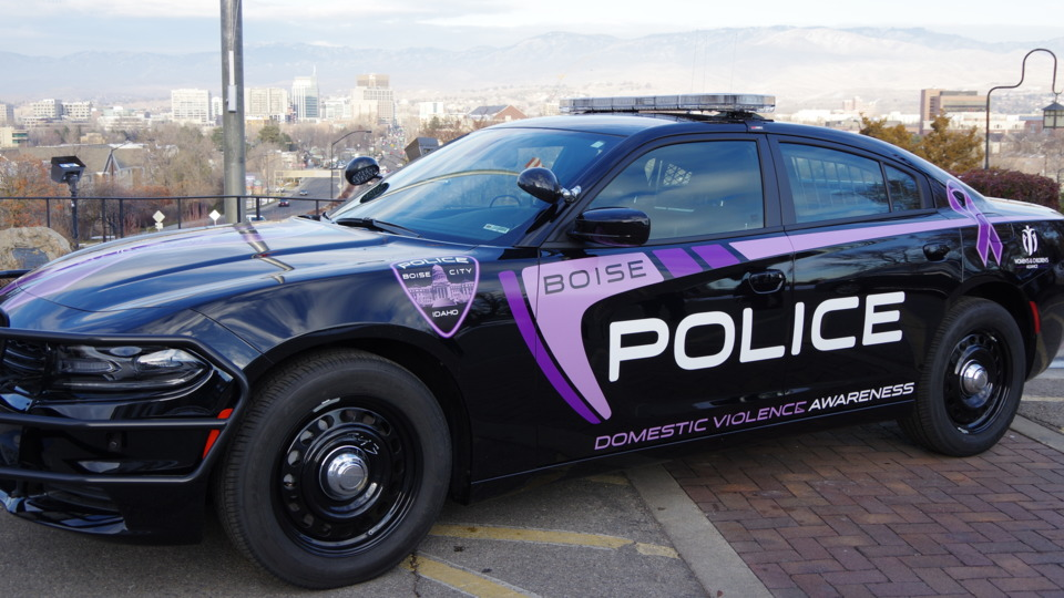 Muscle Car Decals >> Boise Police Department BPD Women's and Children's Alliance WCA Partner for Domestic Violence ...