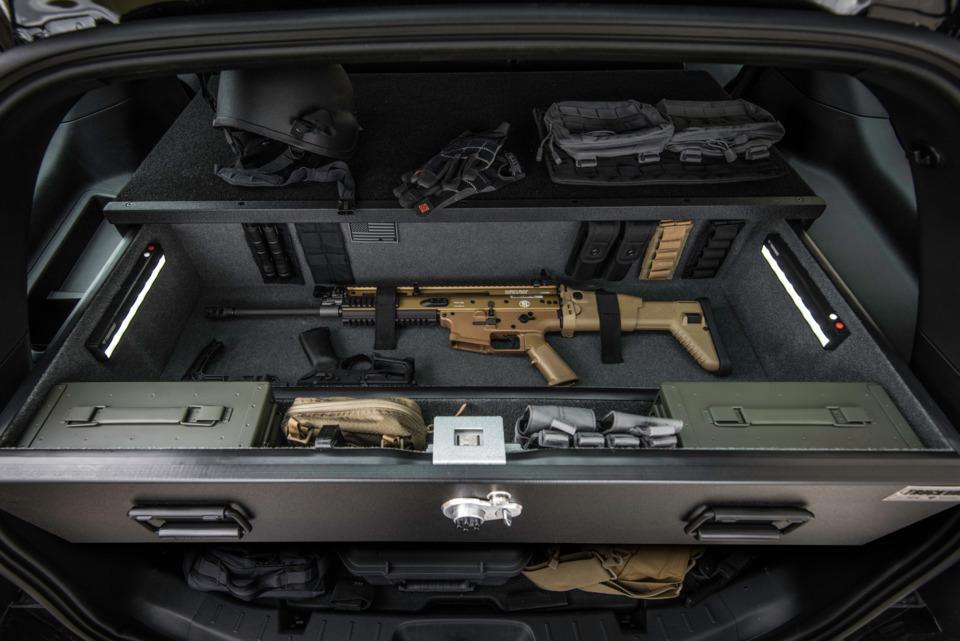 TruckVault Inc. Secure In-Vehicle Storage Elevated Patrol ...