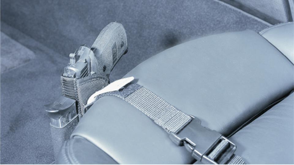 Desantis Gunhide Car Seat Holster The Kingston N92 in Holsters