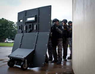 on the street body armor protection ballistic shields officer