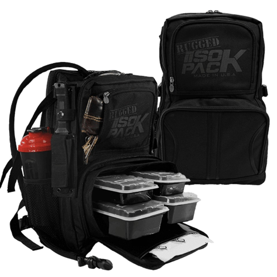 9da26a43e1c3 Isolator Fitness Inc. Rugged Isopack Bag Blackout Edition in ...