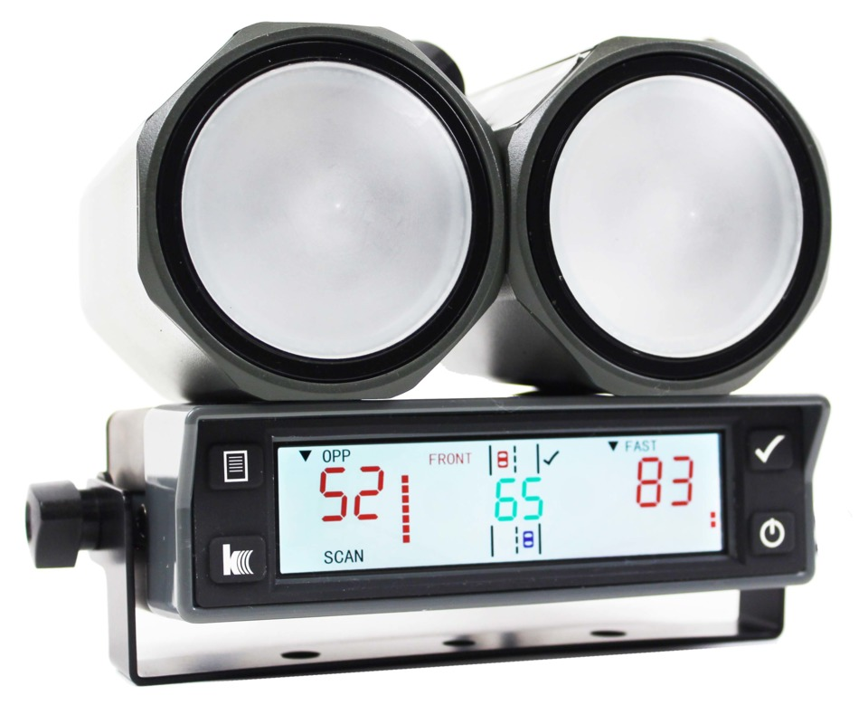 kustom signals inc eagle 3 handheld speed radar directional radar