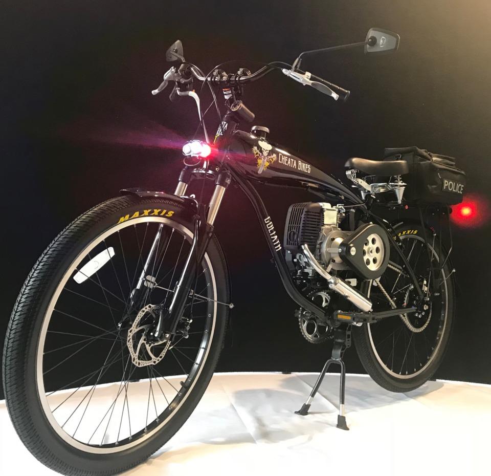 Cheata Bikes Cheata Bikes Automatic Motor Bicycle Patrol