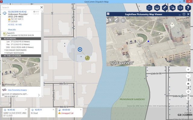 GeoComm Inc  Dispatch Map in Dispatch Technology