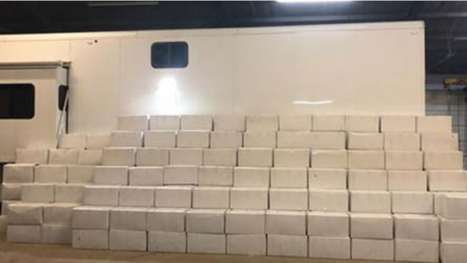 Texas Trooper Makes Massive Drug Bust