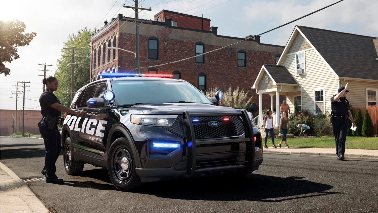 2all New2020ford Police Interceptor Utility Hybrid Ford S First Pursuit Rated Suv