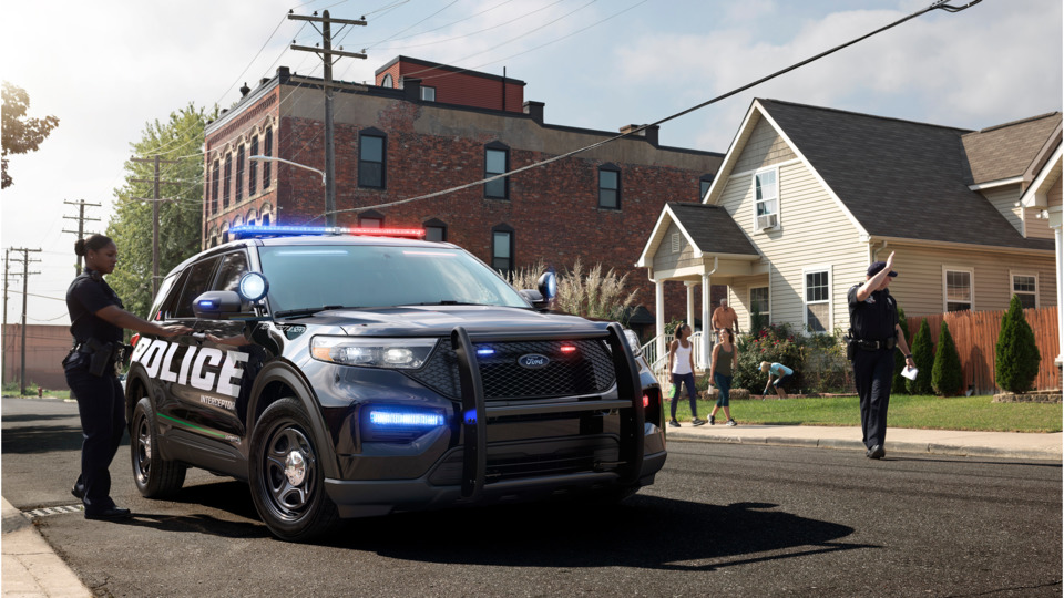 Ford Motor Co 2020 Ford Police Interceptor Utility Pursuit Rated