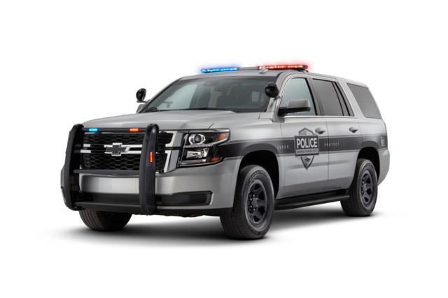 General Motors Fleet Law Enforcement Vehicles 2019