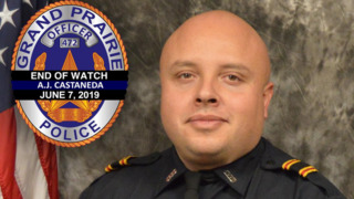Texas Police Officer Struck, Killed as He Stood Outside of His Vehicle