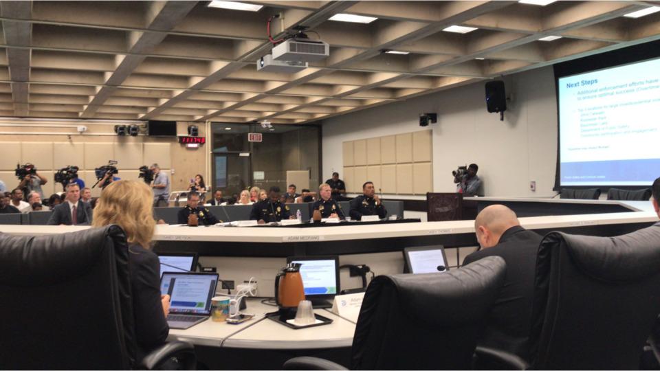 Dallas City Council Puts Police Chief on Defensive