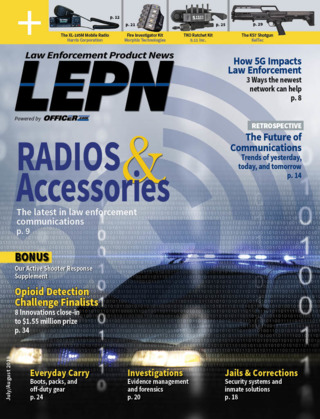 Law Enforcement Product News July August 2017 | Officer