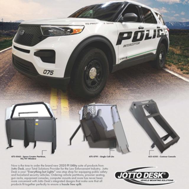 Jotto Desk Accessories For Police Units