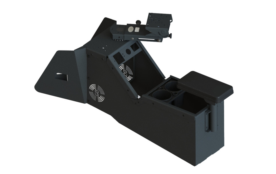 gamber johnson llc  ford police interceptor utility rugged mounting product   vehicles