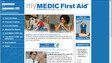 mymedicfirstaid.com website