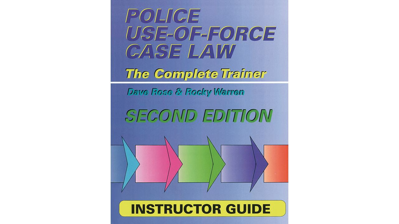 an argument against the use of force by the police The only explicit restrictions placed on police use of force are the use of words and arguments that force and deception will be used against.