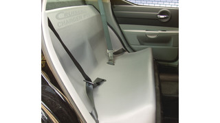 2006 Dodge Charger Prisoner Transport Seat