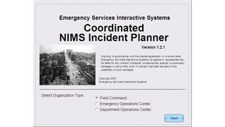 Coordinated NIMS Incident Planner