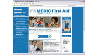 mymedicfirstaid.com website