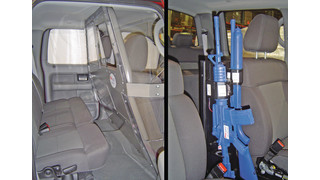 Partition and Vertical Gun Rack