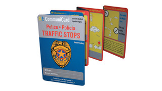 Police Traffic Stop CommuniCard