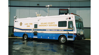 Solano County, CA, Mobile Command Post