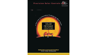 Solar Message Center Literature