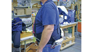 Suicide belts, vests and chest-paks
