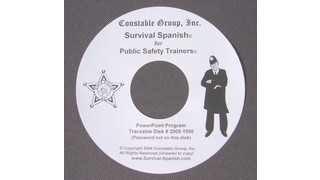 Survival Spanish for Law Enforcement Trainers