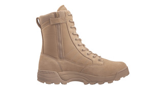 Tan Side Zip ST boot
