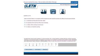 Test Presentation System