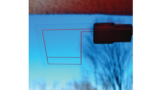 Transparent GPS Antenna