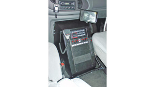 Vehicle Specific Consoles for the Ford E-Series Van