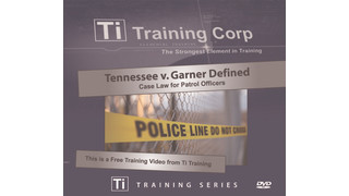 Video: Tennessee v Garner case: Impact on law enforcement