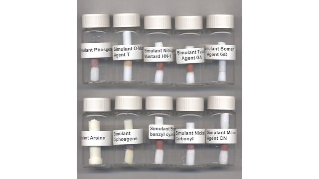 Chemical Warfare Agent Odor Simulant Kit