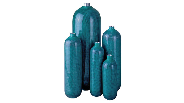 Composite cylinders for medical oxygen