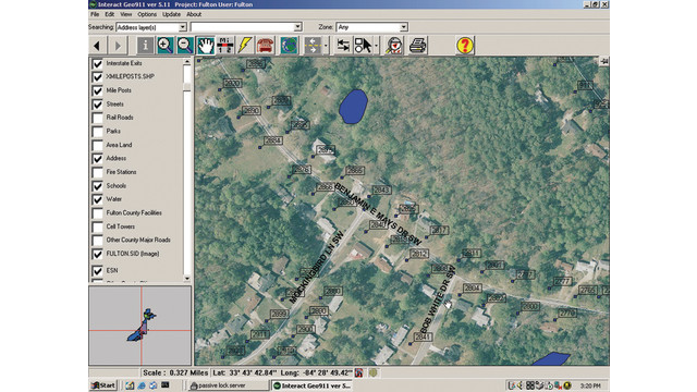 GIS/Mapping Application