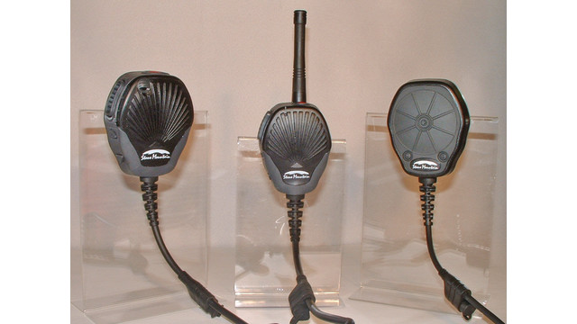 Juno Speaker microphone, Sword TruBand microphone and Utah PTT series