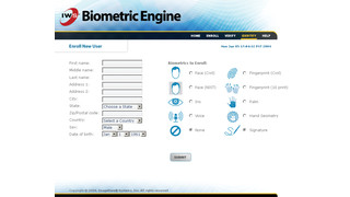 Biometric Engine