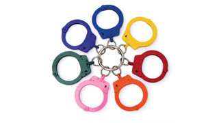 Color-coded handcuffs