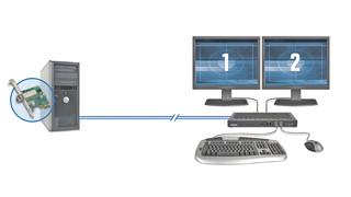 Extio F1220 display extension