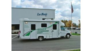 mobile command unit for Ann Arbor