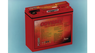 ODYSSEY PC680 SLI Battery