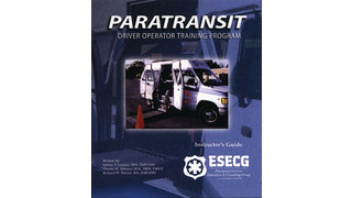 Paratransit Driver Operator Training Program
