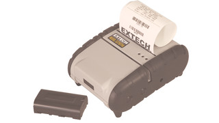 Portable three-inch battery-operated receipt printers