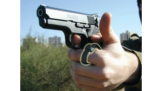 PTT Switch for Handgun Applications