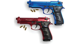 Red/Blue Simulator Training Firearms