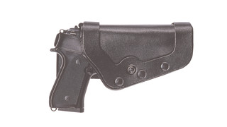 Slimline PRO-3 Triple Retention Duty Holsters ' Dual Magazine Cases