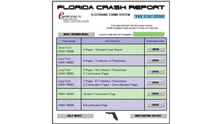 STARS State Crash Report System